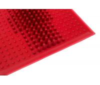 Коврик резиновый VAVE от плоскостопия красный