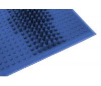 Коврик резиновый VAVE от плоскостопия синий