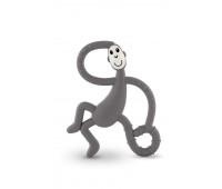 Игрушка-прорезыватель Matchstick Monkey Танцующая Обезьянка серая 14 см (MM-DMT-001)