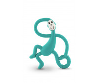 Игрушка-прорезыватель Matchstick Monkey Танцующая Обезьянка зеленая 14 см (MM-DMT-008)