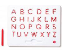 Магнитная доска Kid O для изучения больших английских печатных букв от А до Z (10342)