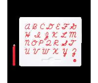 Магнитная доска Kid O для изучения английских больших прописных букв от А до Z (10363)
