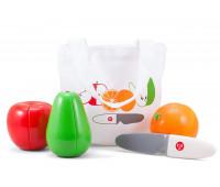 Игровой набор Kid O Магнитные Фрукты апельсин+яблоко+груша+нож (10349)