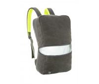 Рюкзак REFLECTO, цвет GREY & GREEN (серый с зеленым)