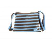 Сумка Medium, цвет Ocean Blue & Soft Brown (голубой)