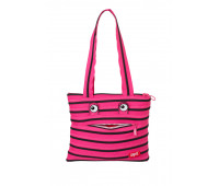 Сумка MONSTERS Tote / Beach, цвет Pink Begonia & Black Teeth (розовый)