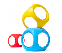 Игрушка-мяч Moluk Oibo яркие 3 шт в упаковке (43420)