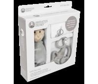 Набор Matcstick Monkey Grey пеленка прорезыватель игрушка (MM-TGP-001)