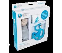 Набор Matcstick Monkey Blue пеленка прорезыватель игрушка (MM-TGP-002)