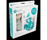 Набор Matcstick Monkey Green пеленка прорезыватель игрушка (MM-TGP-008)