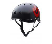 Велосипедный шлем Trybike 47 53см черный ON/OFF (COCO 8S)
