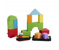 Плавающие блоки для ванной Just Think Toys Буксир и баржа (22092)