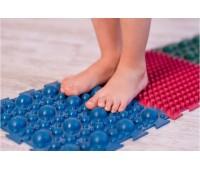 Коврик массажный резиновый для стоп Пазлы 8 ковриков