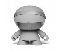 Акуст. стереосистема XOOPAR - XBOY GLOW(12cm,сер.,Bluetooth,MP3/SD-карт,микроф.,аудио&USB-каб.,LED)