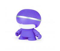 Акуст. система XOOPAR - Mini XBOY (7,5 cm, фиол., c Bluetooth, зарядн.USB-каб, LED-подсв., ремешк.)