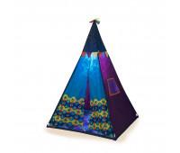 Игровая палатка-вигвам - ФИОЛЕТОВЫЙ ТИПИ (свет, 100х100х140 см)