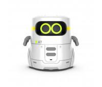 Умный робот с сенсорным управлением и обучающими карточками - AT-ROBOT 2 (белый, озвуч.укр)