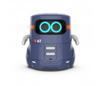 Умный робот с сенсорным управлением и обучающими карточками - AT-ROBOT 2 (темно-фиолетовый, озвуч.укр)