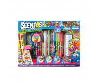 Ароматный набор для творчества - ФРУКТОМАНИЯ (маркеры,ручки, карандаши,наклейки,раскраска)