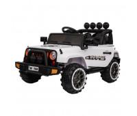 Электромобиль T-7833 EVA WHITE джип на Bluetooth 2.4G Р/У 12V7AH мотор 2*30W с MP3 120*70*70/1/