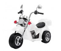 Электромобиль T-7230 WHITE мотоцикл 6V4.5AH мотор 1*18W 93*45*60 /1/