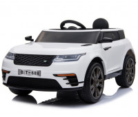 Электромобиль T-7834 EVA WHITE джип на Bluetooth 2.4G Р/У 12V4.5AH мотор 2*20W с MP3 112*66*52/1/