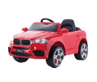 Электромобиль T-7830 EVA RED джип на Bluetooth 2.4G Р/У 2*6V4,5AH мотор 2*25W с MP3 104*64*53 ш.к. /1/