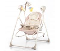 Кресло-качалка CARRELLO Nanny 3в1 CRL-0005 Beige Dot /1/ MOQ