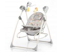 Кресло-качалка CARRELLO Nanny 3в1 CRL-0005 Grey Planet /1/ MOQ