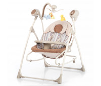 Кресло-качалка CARRELLO Nanny 3в1 CRL-0005 Beige Stripe /1/ MOQ
