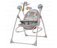 Кресло-качалка CARRELLO Nanny 3в1 CRL-0005 Grey Wave /1/ MOQ