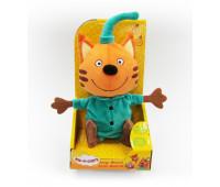 Три кота: мягкая игрушка Компот со звуковыми эффектами
