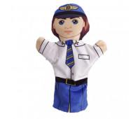 """Кукла на руку """"Пилот"""" *"""