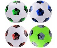 Мяч футбольный FB2116 (30шт) №5, PVC, 350 грамм, MIX 4 цвета *