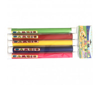 """Игрушка детская """"Эстафетная палочка №3 толстая диам. 2,7 см длина 28см (в наборе 5 шт ) (22)"""