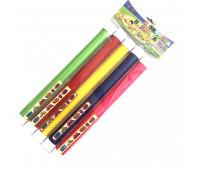"""Игрушка детская """"Эстафетная палочка №3 толстая диам. 2,7 см длина 35см (в наборе 5 шт ) (17)"""