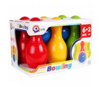 Іграшка «Набір для гри в боулінг ТехноК» (6)