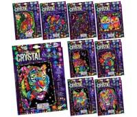 Комплект креативного творчества CRYSTAL MOSAIC (20) 7272 10 видов