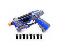 Пистолет муз со светом (кулек) RF300C-1 р.20*30*4см. *