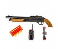 Вангард ПФ пистолет с 5 мягкими пулями с чехлом, оптикой и рацией блистер ( 24шт.) 922