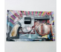 Мистер Кей револьвер с пистонами (кол в коробке 90шт.) 237