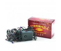 Электрогирлянда рис 50 ламп мультиколор 2,5m(м), 220В, 50Гц *