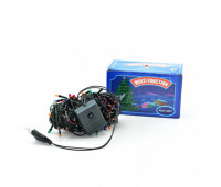 Электрогирлянда рис 240 ламп мультиколор 8 м, 220В, 50Гц *
