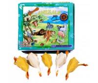 Домашние птицы Гонконг A007P тянучка 8