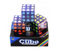Кубик-рубик сердечко (коробка, 6шт)