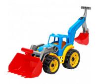 Трактор с двумя ковшами (9)