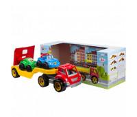 Машина автовоз с набором машинок(4)