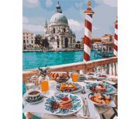 """Набор для росписи """"Завтрак в Венеции"""" 40*50 см *"""