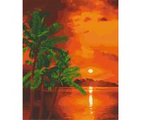 """Набор для росписи """"Вечер на Бали"""" 40*50 см *"""