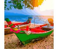 "Набор для росписи ""На побережье Тайланда"" 40*40 см *"